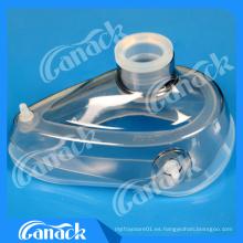 Fabricante chino máscara de anestesia tipo de silicona
