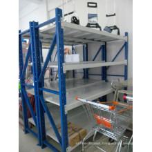 Warehouse Light Duty Metal Steel Storage Racking