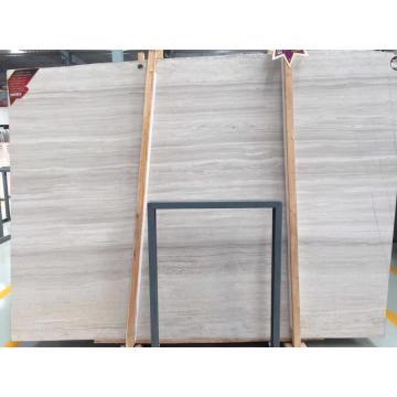 losa de mármol blanco de madera