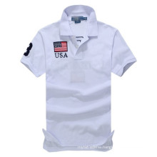 15PKPT19 2014-2015 high quality country flags breathable mens polo shirt