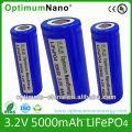 130wh/Kg Li-ion Battery 32650 3.2V 5ah