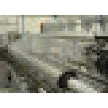 Clôture en PVC galvanisé / coifié à chaud