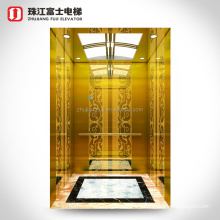 Small Machine Room Homemade Elevators Stainless Steel AC Lift Residential Home-use Fuji Elevator China