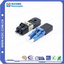 Mini LC Singlemode Fibra Óptica Multimodo Loopback