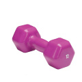 12 LB de vinil Hex Dumbbell