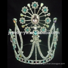 fashion crystal crown for woman from zhanggong jewelry factory