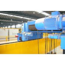 Motorreductor helicoidal de eje paralelo para polipasto