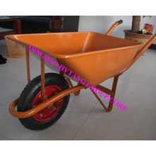 58L steel tray wheelbarrow
