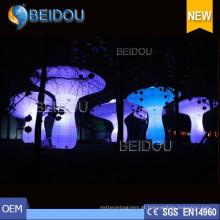 Fábrica Custom LED iluminado inflável Brinquedos Modelos Personagens Balão Decorações