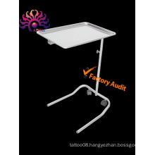 High Quality Ajustable Stainless Steel Mayo Tray for body tattoo
