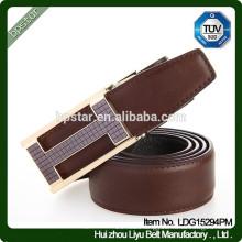 Fashion Design Formal Genuine leather Metal Automatic Buckle Belt For Business Man/cintos de couro cinto de couro para homens
