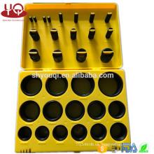 Junta de goma KIT de herramientas KIT Caja de anillos O Junta métrica estándar o conjunto de agua Sellos de resistencia al aceite oring