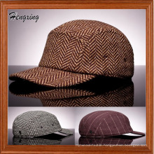 Custom Blank 5 Panel Fitted Crooked Pallet Hats