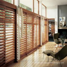 Timber Plantation Window Louvre Shutters