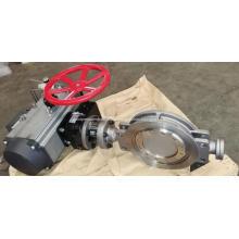 Absperrklappe für pneumatischen Luftantrieb