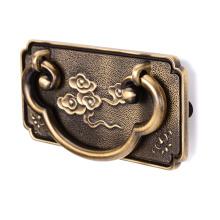 Furniture hardware Antique Brass drawer pulls rings