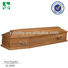 металлическая ручка Ницца резьба для гроб грецкого ореха