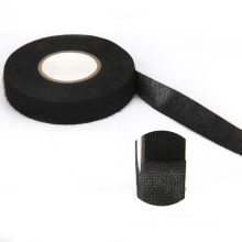 Manufactory Outlet Black Cloth Wire Harness Polyester Tape Automotive Masking Tape