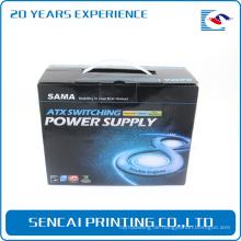 Großhandel farbige Elektronik Produkt elektronische Rasierer Papier Box Verpackung