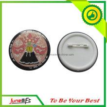 Emblema do botão de lata do clube no estilo elegante com preço baixo