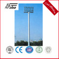 25M High Mast With 600w LED To Football Stadium
