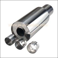 2 INLET 3.5 OUTLET TANK MUFFLER WITH CONNECTOR