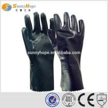 Sunnyhope noir sécurité sécurité chimique gants de sécurité