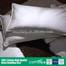 Hotel linen/New bed pillow insert 100% cotton protector goose down and feather alternative