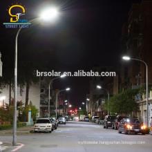 unique design Q235 double lamp antique street light poles