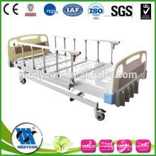 MDK-T201 4 pcs steel side rails 5 position mechanical hospital bed crank