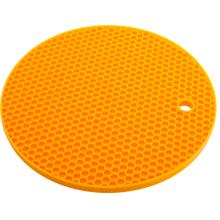 Στρογγυλό σχήμα σιλικόνης Κυψελοειδής κάτοχος ποτ