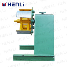 Single Head Coiled Strip Uncoiler For Feeding Coil