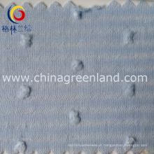 Algodão tecido jacquard para vestuário vestido têxtil (GLLML093)