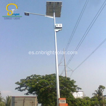 Exported to Nigeria luminarias led publico solar