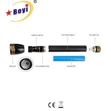 Torche rechargeable en aluminium avec LED originale 3W CREE