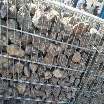 Berat Galvanized Welded Gabion Stone Cages