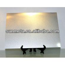Yiwu sunmeta Factorysublimation chapa metálica nome cartão