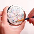 Espelho quente personalizado do plutônio do rosa da imprensa do logotipo com alta qualidade