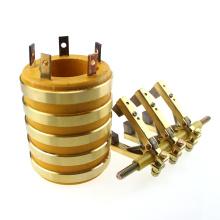 Sr50X90X110-5 Ringe Traditionelle Kohlebürsten durch Bohrung Schleifring mit Halter