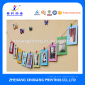 Customized Logo Or Shape Creative DIY Paper Wall Photo Frame,Picture Photo Frame