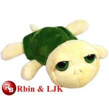 2015 Juguetes de peluche de color verde turtle