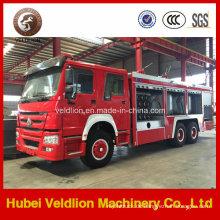336HP 6X4 12m3 Löschfahrzeug (10m3 Wassertank, 2m3 Schaumtank)