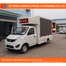 4X2 Mobile LED Advertising Truck for Sale