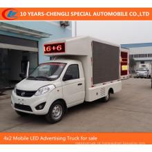 4X2 Mobile LED publicidade caminhão para venda