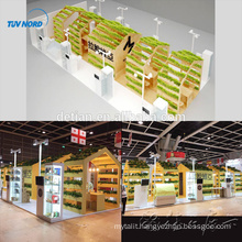 Detian Offer 20x40ft encouraging expo fair stands rental in Shanghai