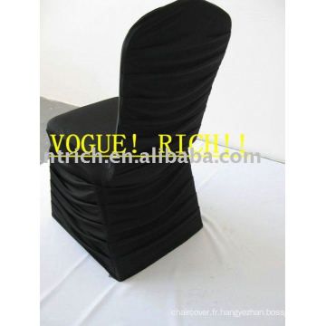 Housses de chaise Spandex plissées