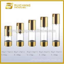 15ml/25ml/30ml/40ml/50ml cosmetic airless bottle,plastic round airless bottle,hot selling plastic bottle