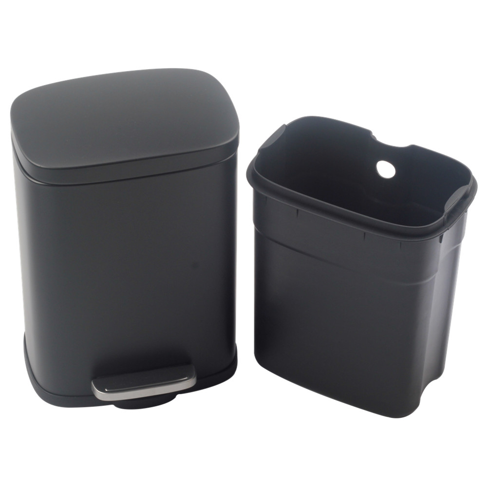 Stainless Steel Step Trash Can With Odor Control System