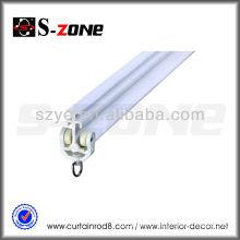 PVC plastic bendable curtain rod track