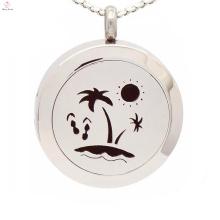 Beliebte Aromatherapie Diffusor Halskette, ätherisches Öl Anhänger